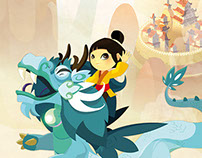 """""""Dragon de Pluie"""", interactive story"""