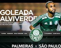 Redesign Concept - Site Palmeiras