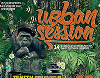 Urban Session Posters, HipHop Danse Festival