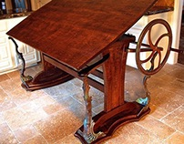 Steampunk Fantasy Drafting Table