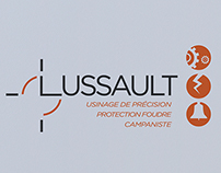 Groupe Lussault Identity