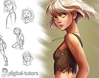 Character Concept Design and Development in Photoshop