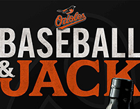 Jack Daniel's & Orioles Poster