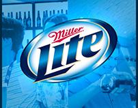Miller Lite Ecuador web site