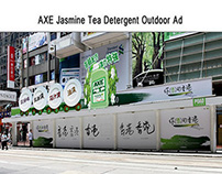 Print & Outdoor Ad Idea for AXE Detergent