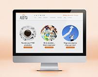 Diseño de página web Wordpress Acierta Consulting