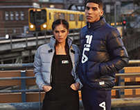 FILA new heritage line 17 lookbook