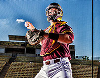 2013-2014 Sun Devil Baseball Marketing Photo Shoot
