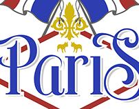 Paris doodle design