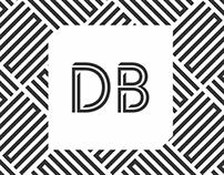 Logotipo DB Estudio de Diseño