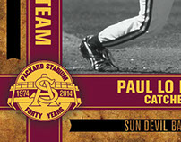 2013 All-Packard Baseball Card Collectors Set (Preview)