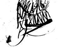 Caligrafía con Tiralíneas