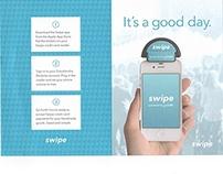 Swipe app, by Goodsmiths