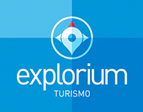 Naming e Identidade Visual - Explorium Turismo