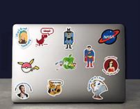 Stickers design-Sticktop