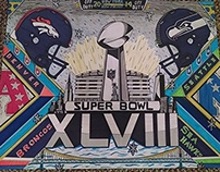 Super Bowl posters