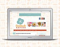 Cozinhando Rápido (Design + Wordpress Theme)