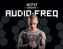 ECHD presents Audiofreq Pre-flyer