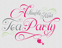 Tea Party Stationary