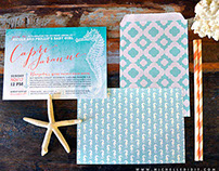 BABY SHOWER INVITATION & Party Decor - CAPRI