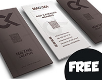 Brown Business Card ( Free )