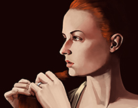 Sansa Stark (Sophie Turner) GoT Pre Raphielite