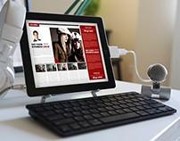 Lifestyle Magazine Tablet Version