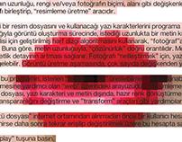 Glyph pixels