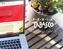 Feria Tabasco Web Design Concept