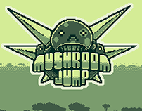 "Artwork of the indie game ""Mushroom Jump"""