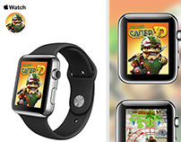 Crazy Sapper (Бравый Сапер) game apple watch concept