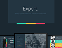 Expert Powerpoint Presentation Template