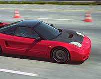 Honda NSX-R @ Windy Hills