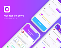 Mas que un polvo® App - UI/UX Design for iOS