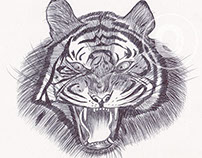 BALL PEN TIGERS
