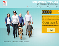 Semaine Chiens Guides d'Aveugles