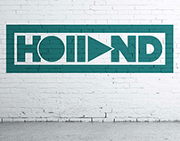 DJ Holland Branding