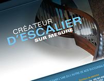 Site Internet - Escaliers 2000