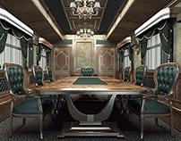 Проект частного железнодорожного вагона.