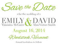 Save the Date Options