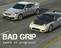 BAD GRIP. CG Short Movie. WIP