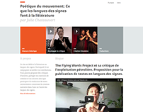 Ph.D Thesis Website for Julie Chateauvert