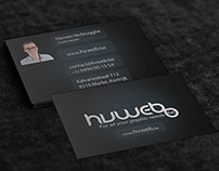 Hvweb.be Business Card