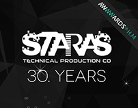 Staras Technical Production Company Website Design