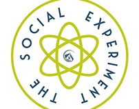 Social Experiment Website Landing Page