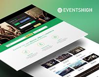EventsHigh Website