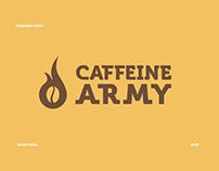// Caffeine Army Key Visual