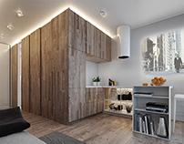 Studio 32 sq.m