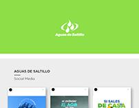 Aguas de Saltillo | Social Media & Flyer