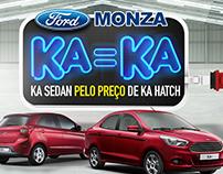 Ford Monza - KA = KA